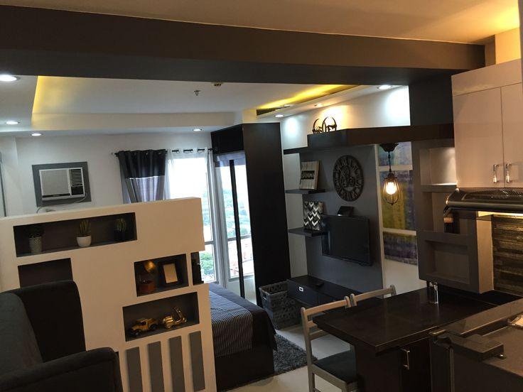 Small Studio Apartment Decorating Layout