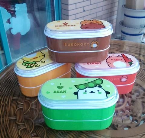 High Quality Cartoon Healthy Plastic Lunch Box 600ml Bento Boxes Food Container Dinnerware Lunchbox Cutlery with Chopsticks. | wonderfestgifts.com