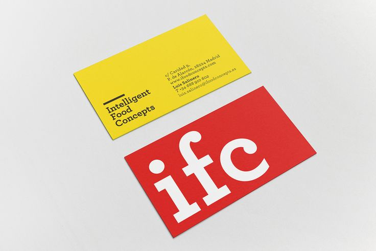 IFC / Intelligent Food Concepts on Behance
