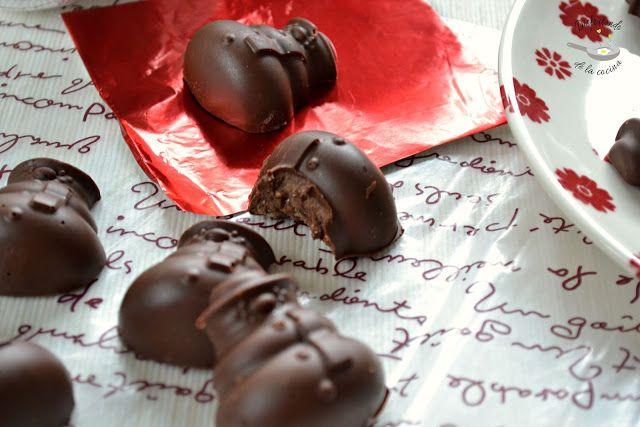 Deliciosa receta de Turrón de chocolate y praliné de almendras de Disfrutando de la Cocina