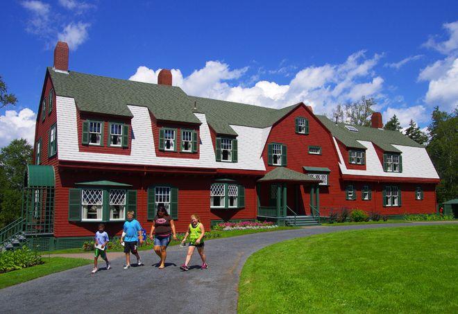 The summer residence of President Roosevelt on Campobello Island, New Brunswick
