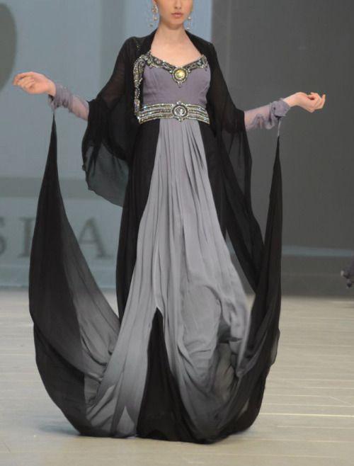 What Mellario of Norvos would wear, Abaya Dubai fashion week