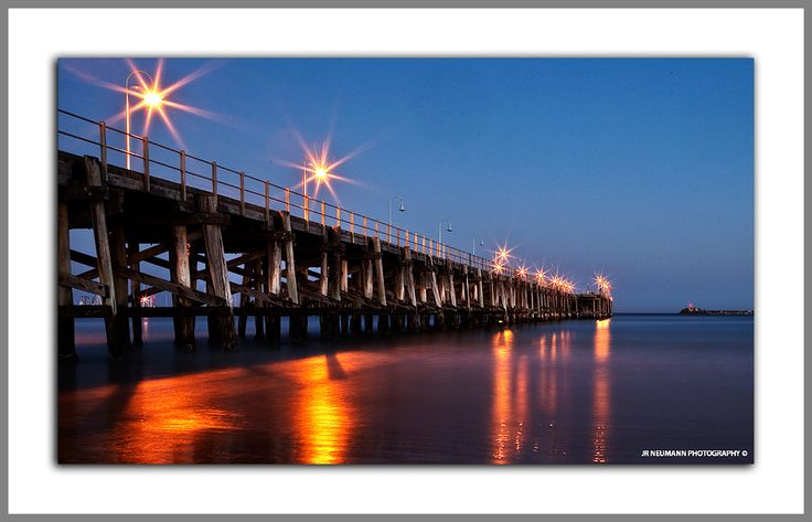 The Jetty at night - Coffs Harbour NSW