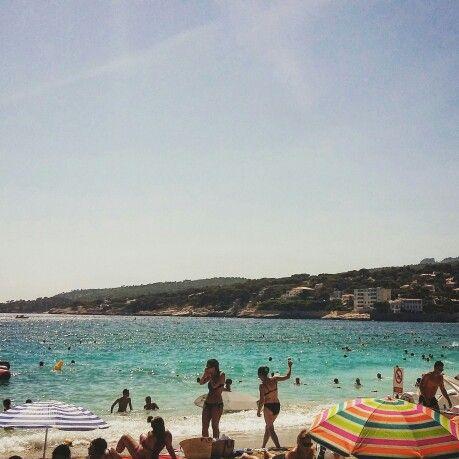 Sun in Marseilles