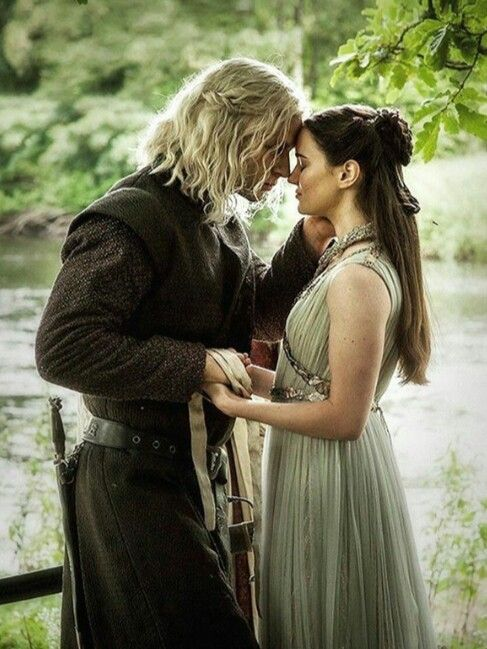 The Dragon and The Wolf | Rhaegar and Lyanna!!! They have always been my favorite couple on the show!! ❤️❤️