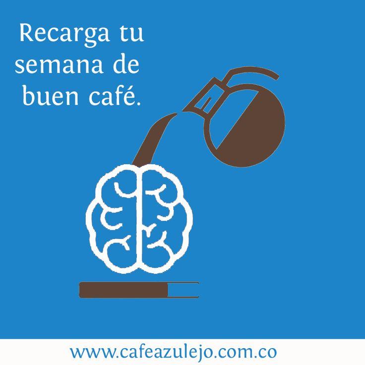 Disfruta un buen café Colombiano.