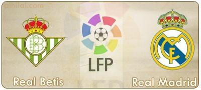 مشاهدة مباراة ريال مدريد وريال بيتيس السبت 24/11/2012 بث مباشر