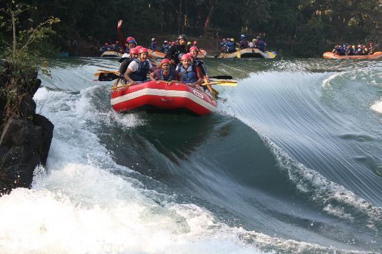 River rafting in Dandeli