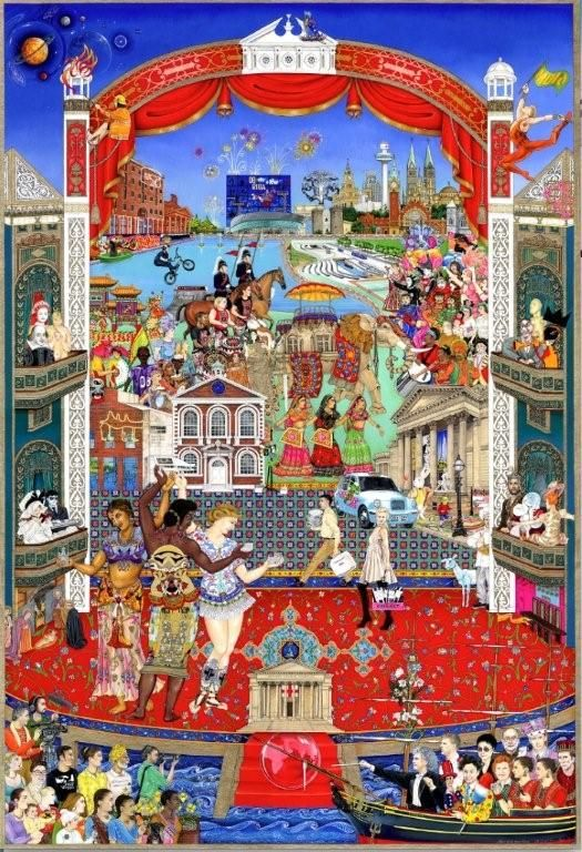 Diverse Ethics - Harmonious Art 'The Pool of Life' - Commissioned by Liverpool…
