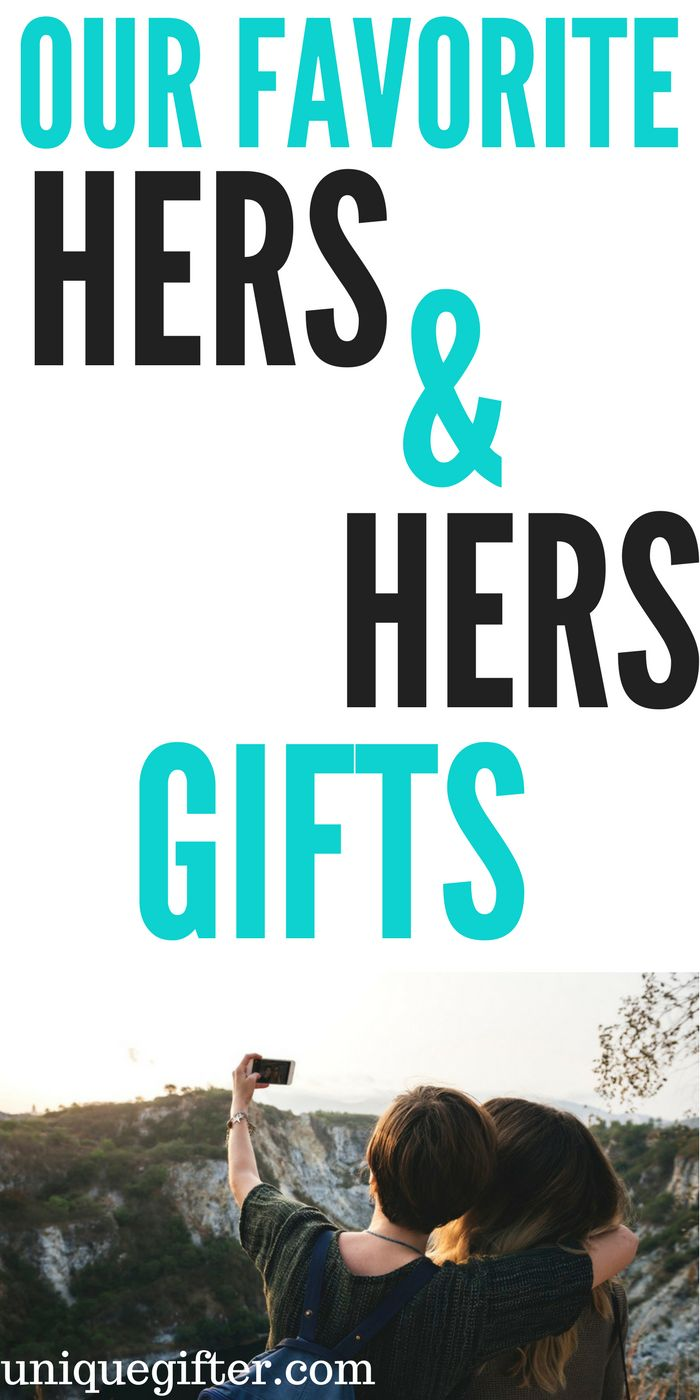 Our Favorite Hers & Hers Gift Ideas | Lesbian Wedding Gifts | Gay Wedding Presents | What to get two women for a wedding | LGBTQ Wedding | LGBTQA | Lesbian birthday present | Gay woman christmas present