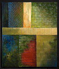 "Beaverbrook at Sunset by David Paul Bacharach (Metal Wall Sculpture) (28"" x 24"")"