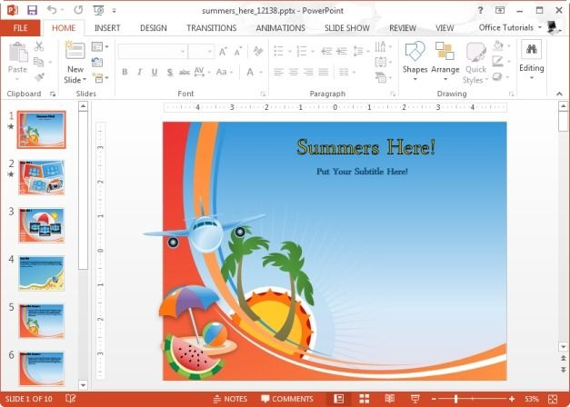 7 best projects to try images on pinterest projects to try free the summer powerpoint template is a set of animated slides which can be used to fit in any summer related presentation topic toneelgroepblik Images