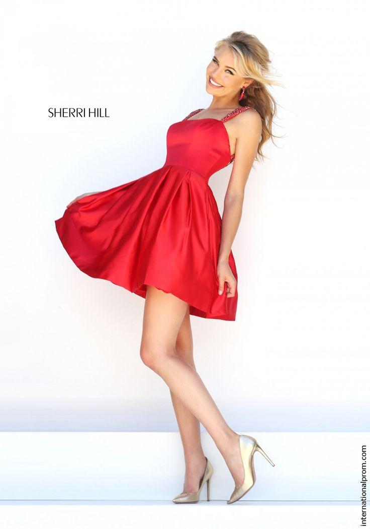 Plain Red Prom Dresses Cheap