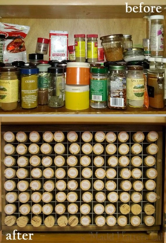 As a chemist, I NEED to do this!!! Test Tube Spice Rack - Before & After