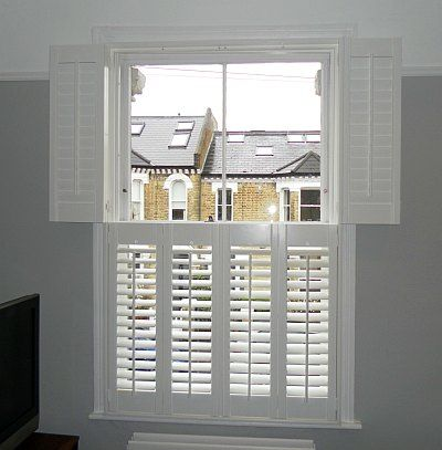 Photo of Tier on Tier Shutters On A Period Property in London, UK