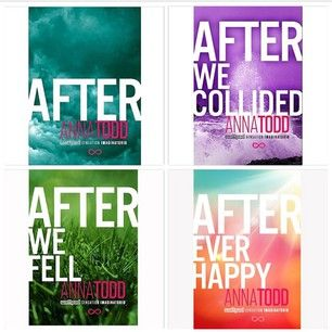NO WORDS FOR THESE BOOKS! THEY HAVE CHANGED MY LIFE IN MOE WAYS THEN I CAN BEGIN TO EXPLAIN.. READ IT ON WATTPAD BEFORE BEING PUBLISHED AND HAVE BAUGHT ALL 3 PUBLISHED BOOK ADN ALREADY HAVE THE MONEY FOR AEH!AND AM NOT SO PATIENTLY WAITING FOR IT ON FEBUARY 24, 2015! (: