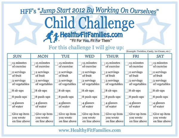 I love this checklist chart for kids! I think we're going to talk about healthy bodies for Family Home Evening next week and challenge the kids to commit to following this checklist! (There's a grown-up version too :) )