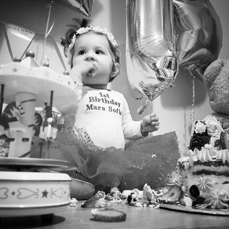 Mara's first birthday
