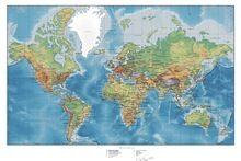 Mapa Do Mundo Mapa Do Mundo Cartaz personalizado Canvas Adesivos de Parede Decalques de Parede Retro Mapa do Mundo Papel De Parede Quarto Mural de Decoração Para Casa(China (Mainland))