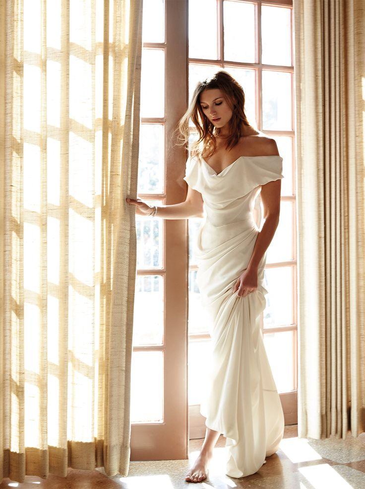Secret Garden: C Weddings Spring 2015 by Coliena Rentmeester - Vivienne Westwood Gold Label dress