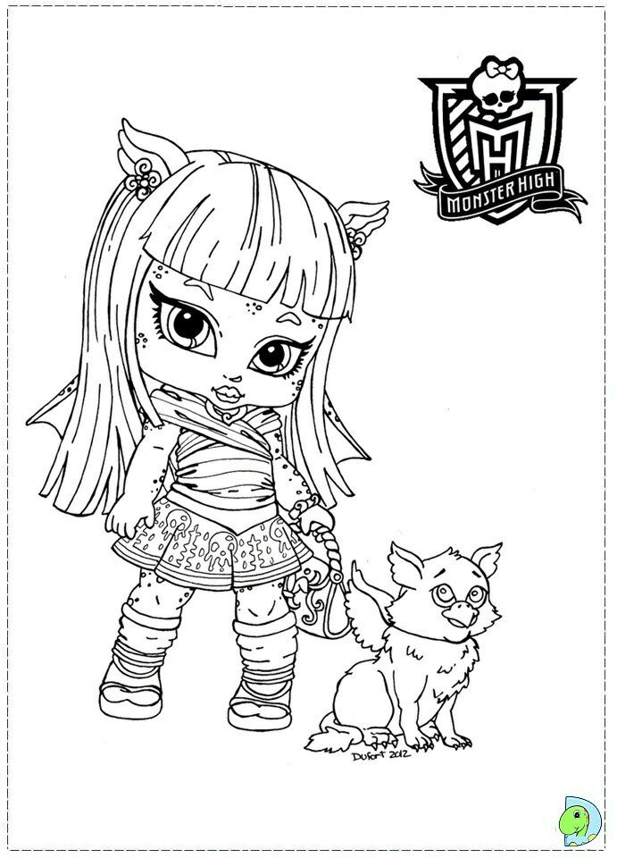 Pin By Renata On Inne Kolorowanki Cute Coloring Pages Monster