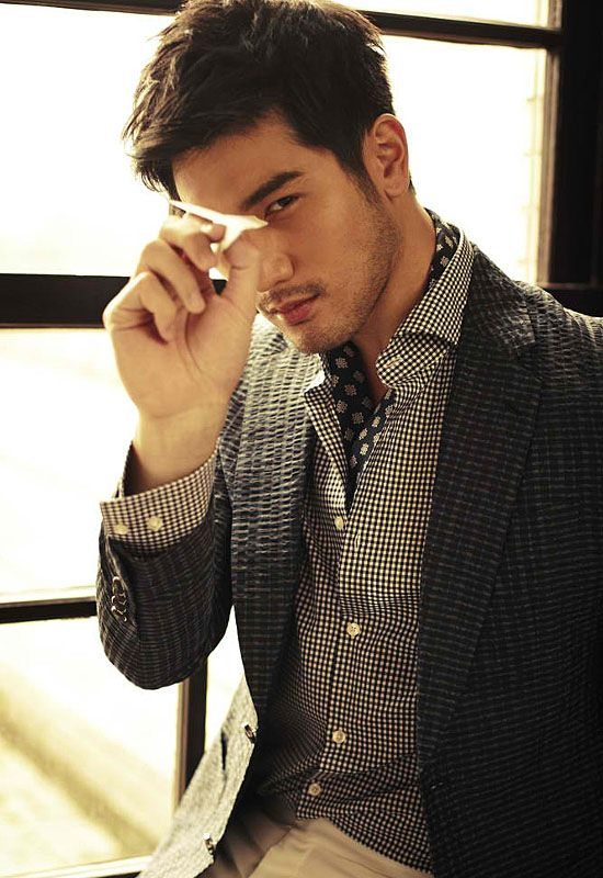 Godfrey Gao. Excuse me sir, why are you so sexy?!