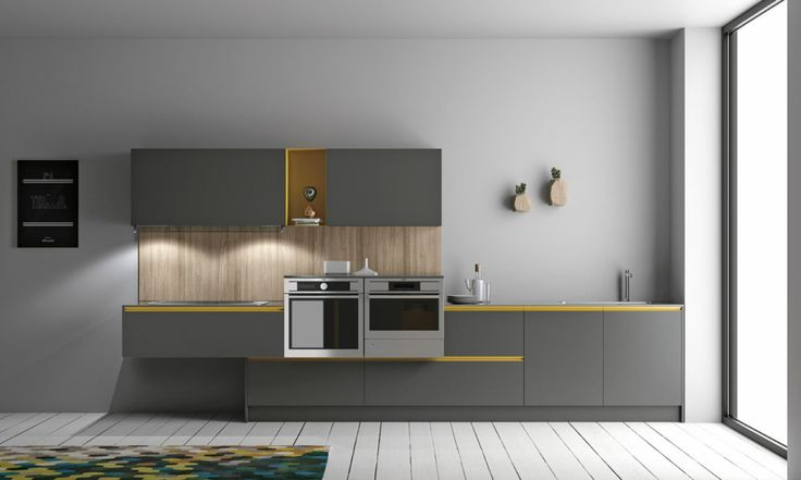 Cromatika model by Doimo Cucine, combines functionality and simplicity to the Made in Italy quality. Historical collection of Doimo cucine, it has been able to renew itself according to the most modern trend and high-tech innovations. Essential lines, natural colours and modern materials are its features. Available in wooden effect laminate (in four oak tones) or in matt color laminates. You can choose between handle and groove version. www.doimocucine.it