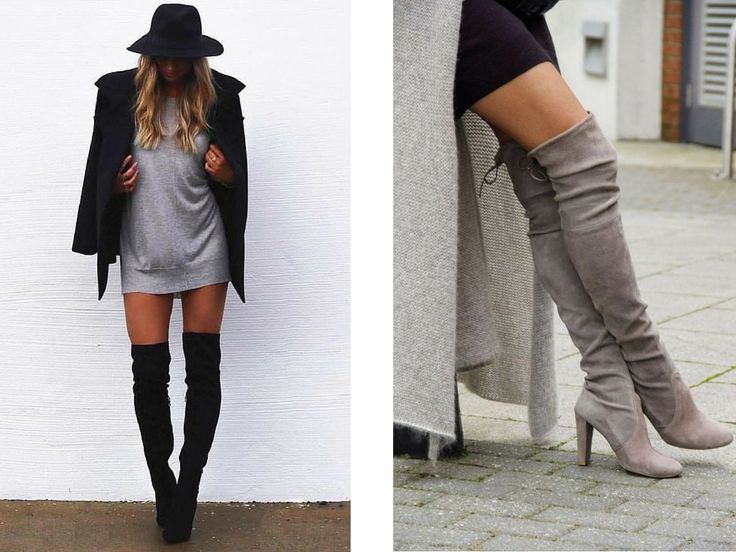 Emiily: 4 over the knee boots for less than 45$ // 300 kr....