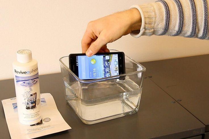 Vannskade på mobilen