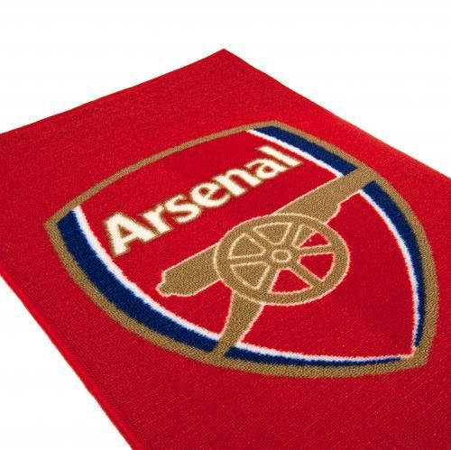 Machine washable Arsenal rug in club colours and featuring a large image of the club crest. Great for kid's bedrooms. FREE DELIVERY on all of our gifts