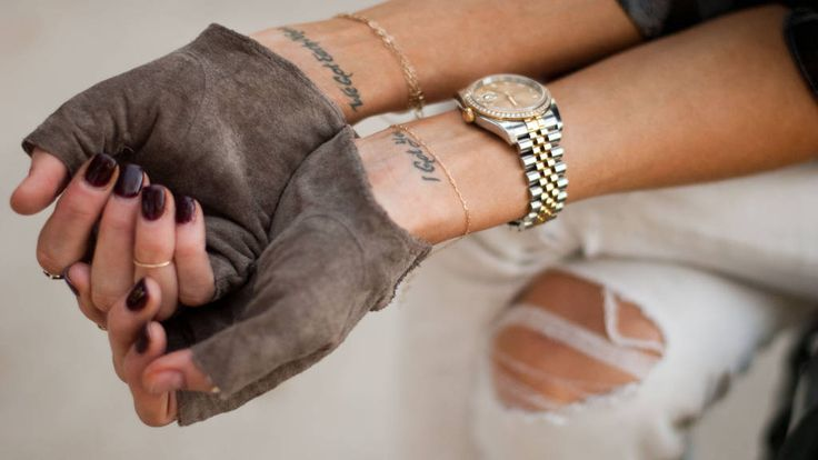 Best 25+ Wrist tattoo ideas on Pinterest | Simple wrist ...