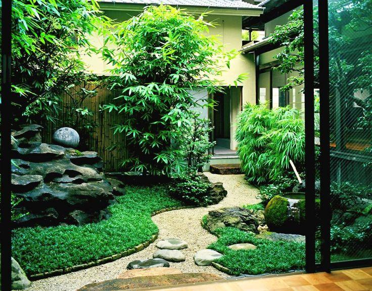 Giardino in stile asiatico di Enatsu Garden Architect / 江夏庭苑事務所