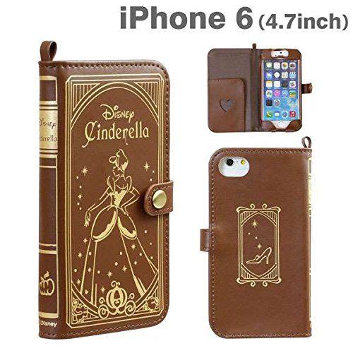 Disney Cinderella Old Book Leather Case for iPhone6 from Japan Golden Berg http://www.amazon.com/dp/B00NEKC4YS/ref=cm_sw_r_pi_dp_0Lj-vb07ST8P5