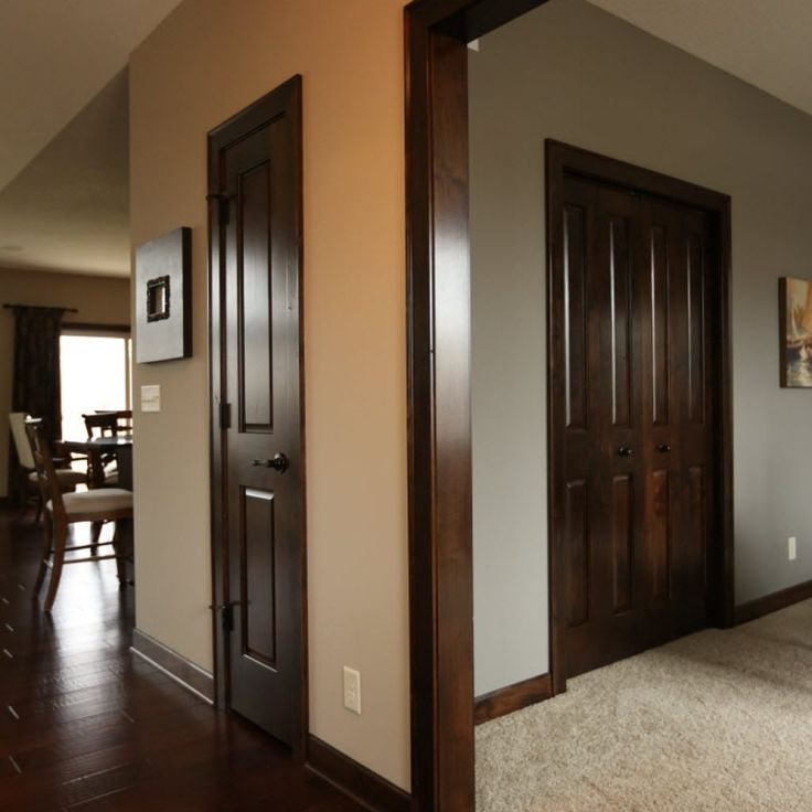 Brown Interior Doors With Brown Trim