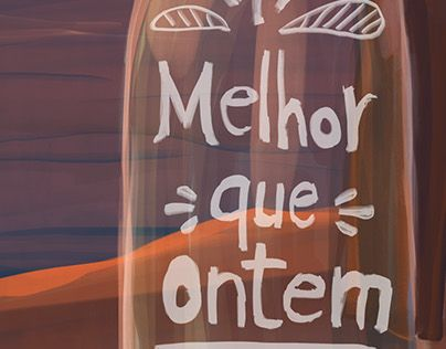 """Check out new work on my @Behance portfolio: """"Melhor que ontem"""" http://be.net/gallery/49414193/Melhor-que-ontem"""