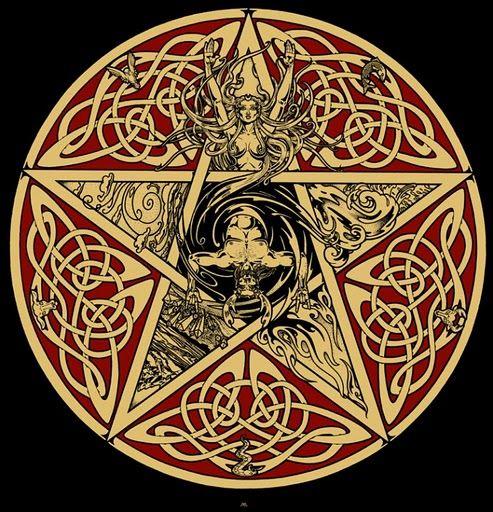 Celtic Horned God Moon Goddess Pentacle/Pentagram www.stella-stroy-dv.ru