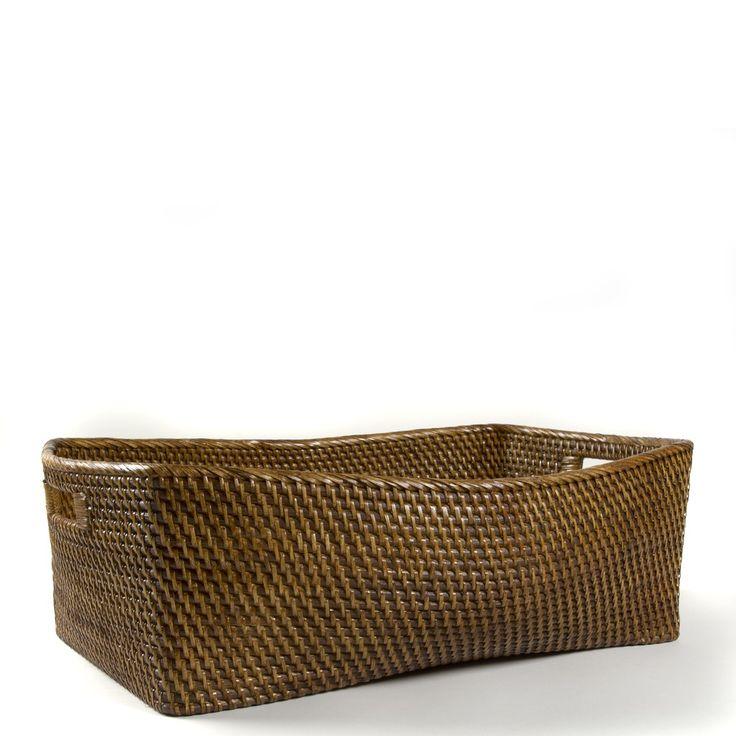 Rattan+Medium+Rectangular+Basket