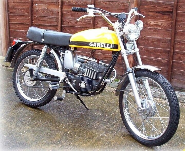 vintage garelli motocross bikes