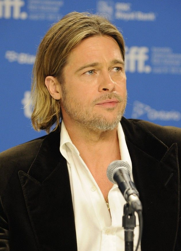 Brad Pitt Greatest #Haircut & Hairstyles cool collection hairstyle trends for men this year.