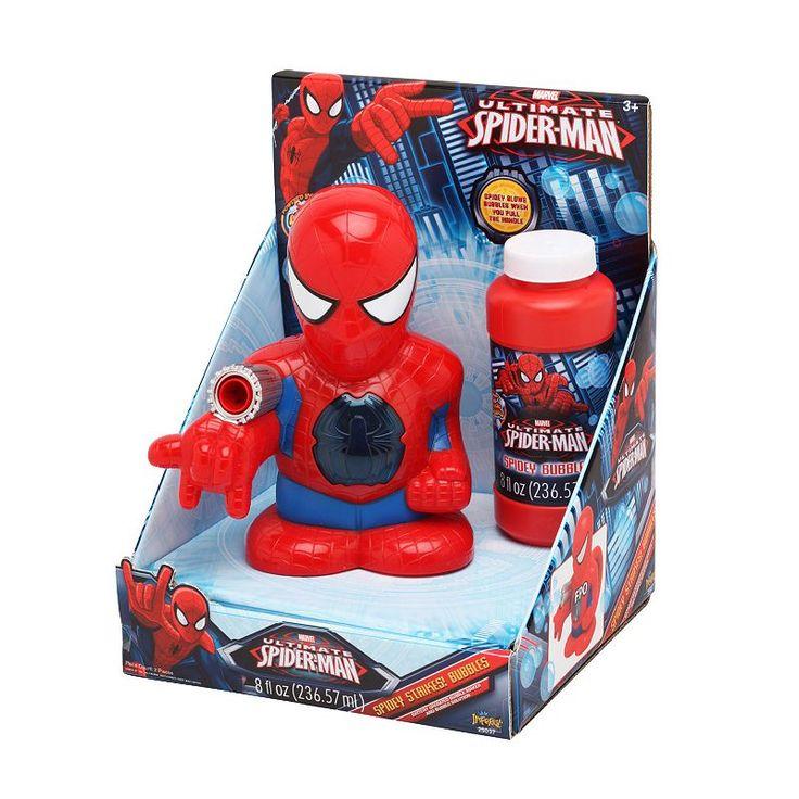 Marvel Ultimate Spider-Man Spidey Strikes Bubbles, Multicolor