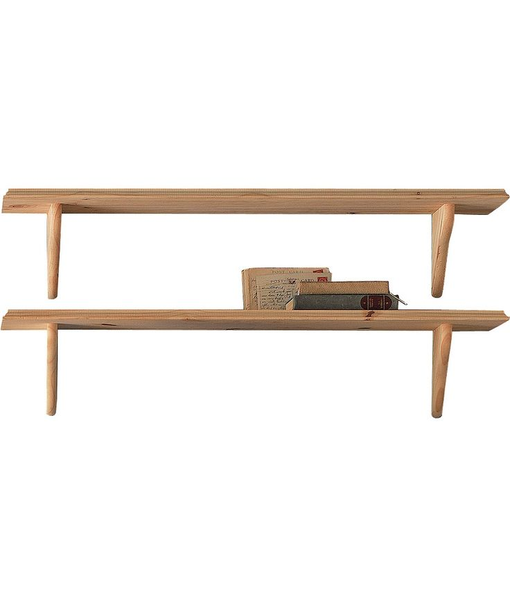 Buy Set of 2 Wooden Shelves - Pine at Argos.co.uk - Your Online Shop for Wall mounted shelves.