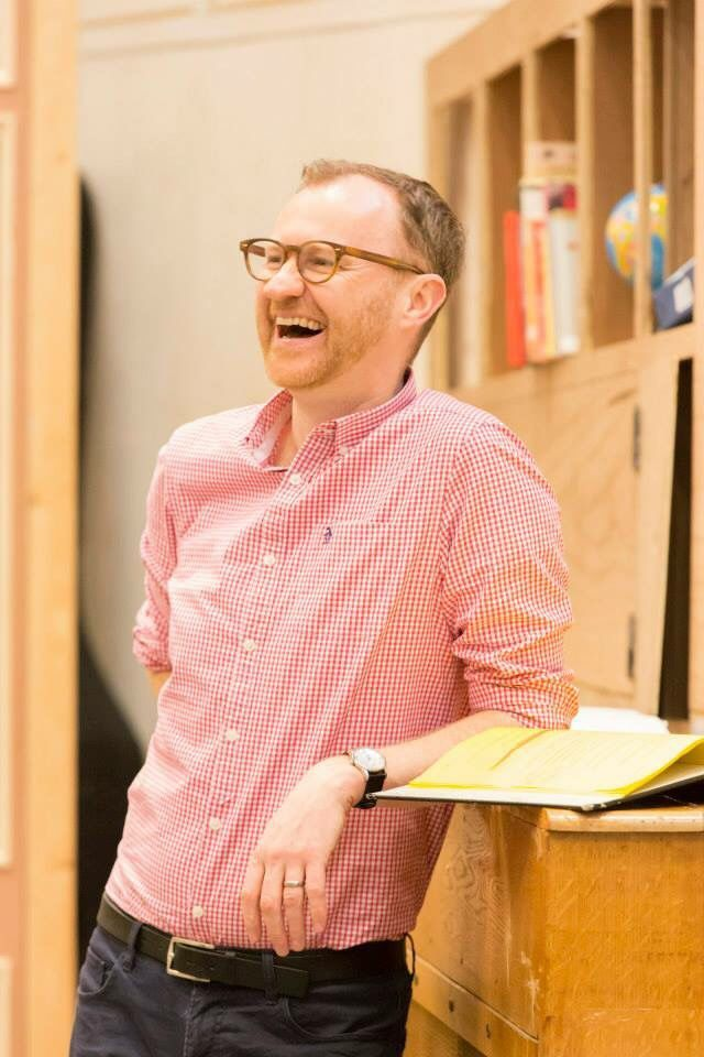 Mark Gatiss, cute lil sunbeam