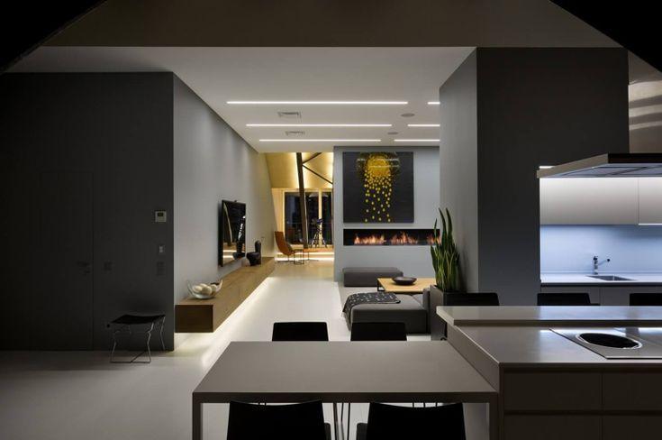 Schwarz-Weiß und Anthrazit Farbe für moderne Raumgestaltung
