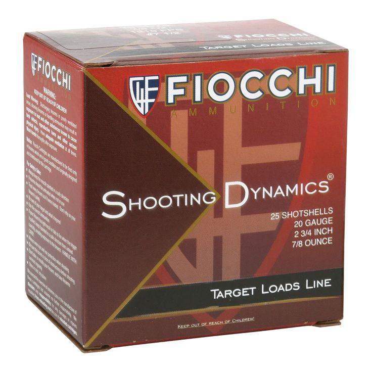 Fiocchi Shooting Dynamics 20Gauge Target Loads in 2020