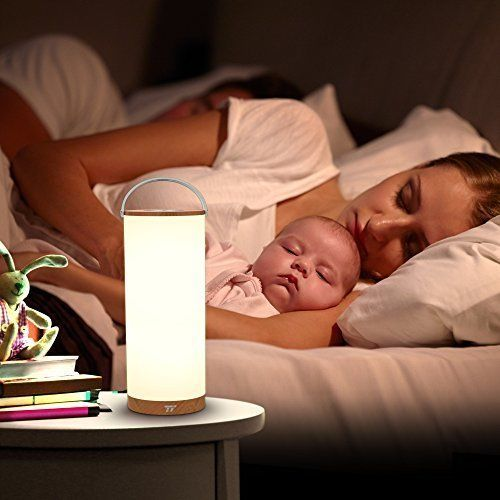 Bedside Lamp Night Portable Wireless LED Touch Rechargeable Battery Baby Bedroom