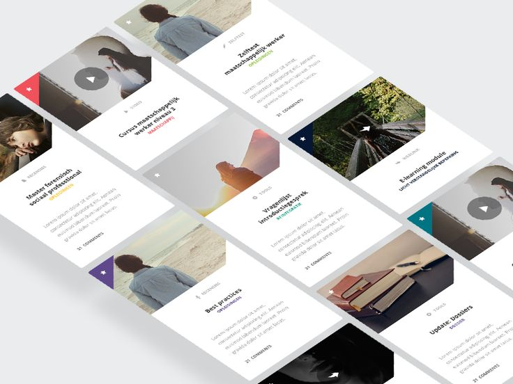 Article Cards | Mobile UI Design