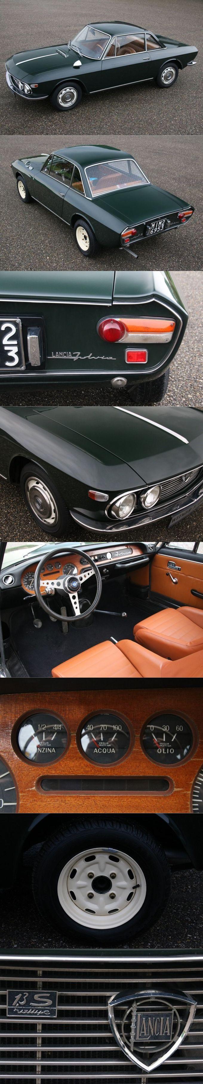 1968 Lancia Fulvia Coupe Rally 1.3S Edizione Doppio / Witmer & Odijk / Italy / green