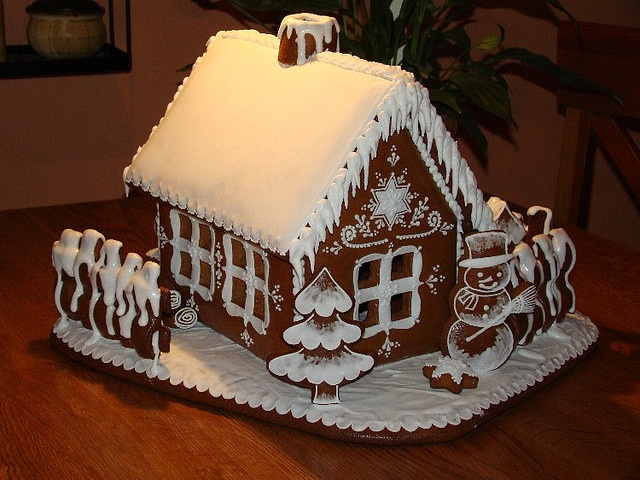 Gingerbread Snow