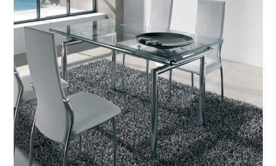 Mejores 76 im genes de mesas de cristal en pinterest - Cristales para mesas redondas ...