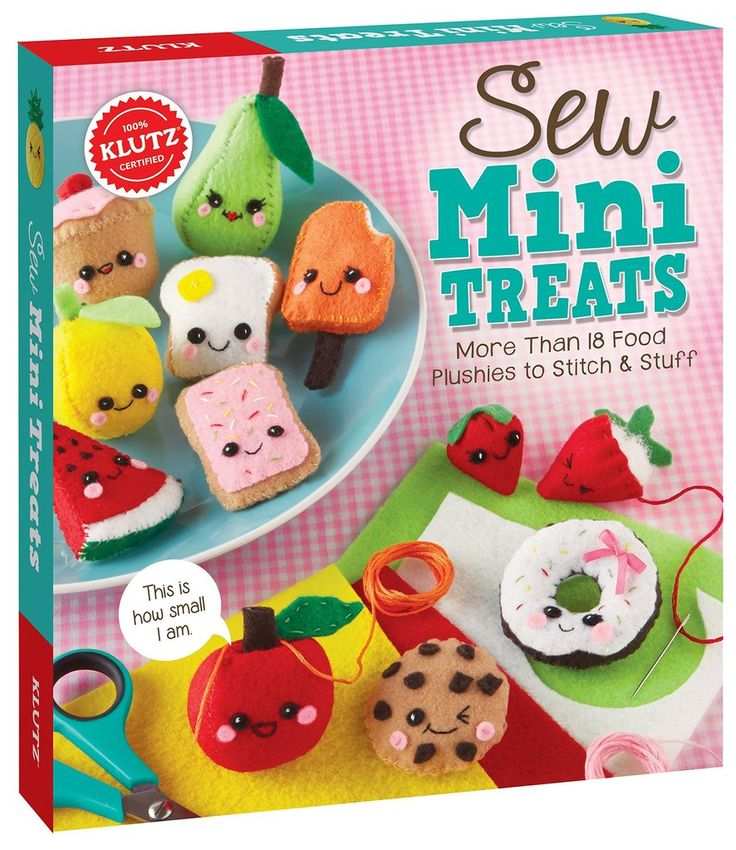Our favorite cool craft kits for kids: Sew Mini Treats by Klutz